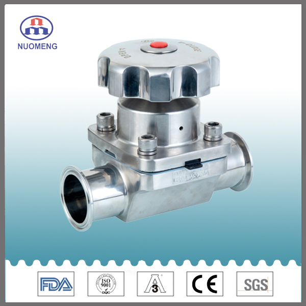 Sanitary Stainless Steel Ss Forge Straight Clamp Diaphragm Valve
