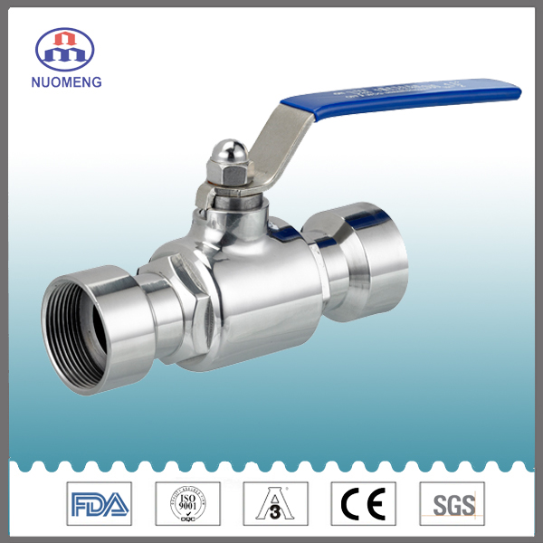 Sanitray Stainless Steel Clamped Ball Valve
