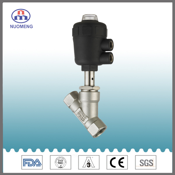 Sanitary Female Thread Angle Seat Valve