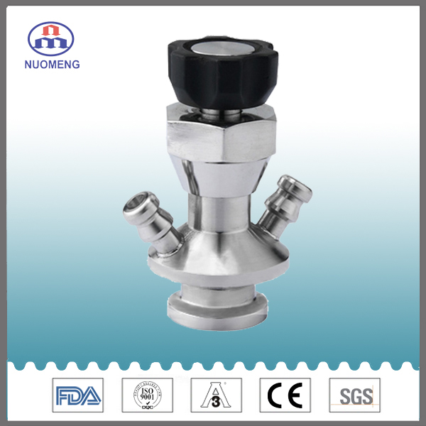 Sanitary Stainless Steel Clamped Aspetic Sample Valve