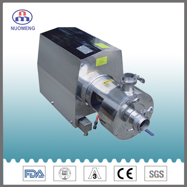 Sanitary Stainless Steel Emulsion Pump