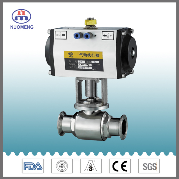 Sanitary Stainless Steel Straight Ball Valve
