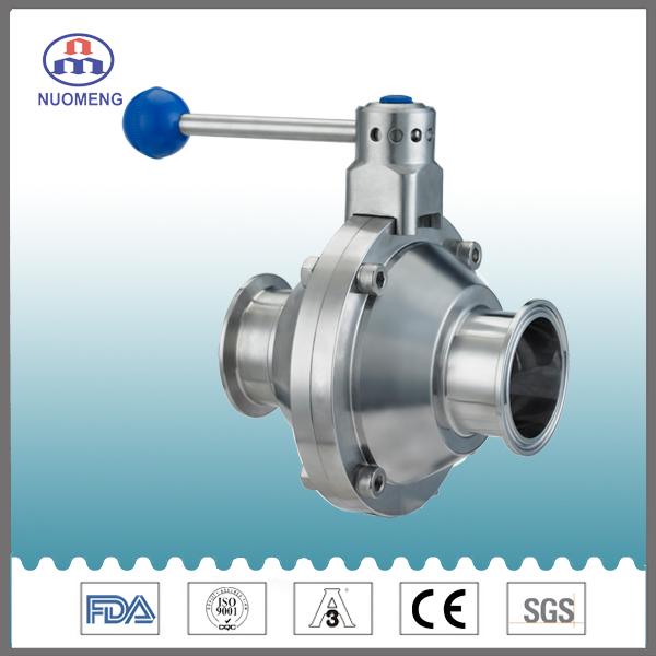 Sanitary Stainless Steel Butterfly Type Ball Valve