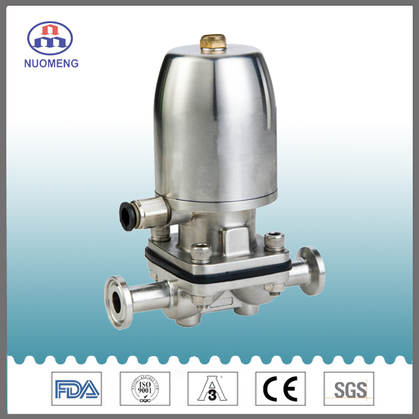 Sanitary Stainless Steel Closed Pneumatic Diaphragm Valve
