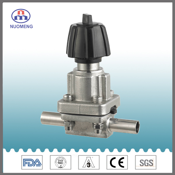 Sanitary Stainless Steel Mini Welded Diaphragm Valve