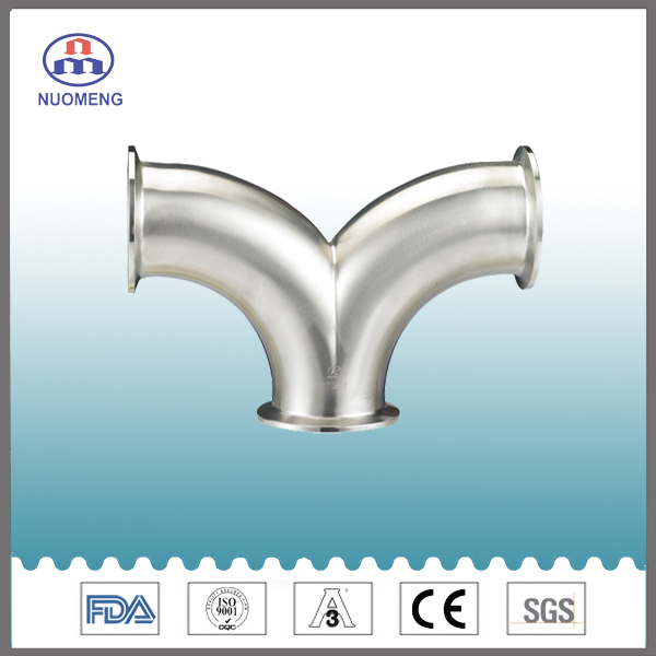 Stainless Steel Double Bend Clamp Elbow