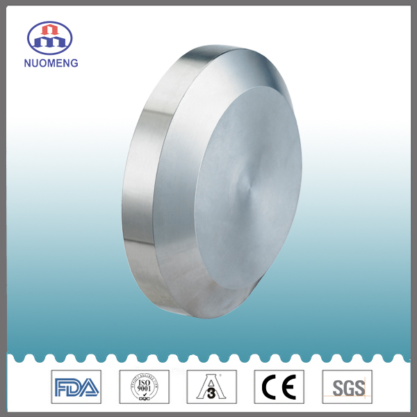 Sanitary Stainless Steel Male Solid End Cap