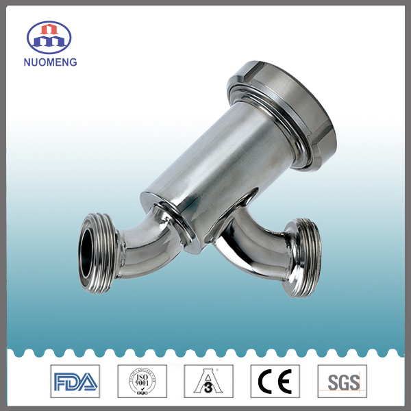 Sanitary Stainless Steel Y-Type Strainer
