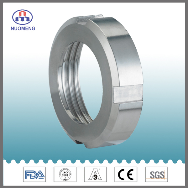 Sanitary Stainless Steel Round Nut (RT0514001)