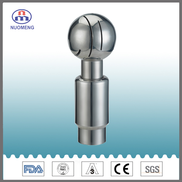 Sanitary Stainless Steel Welded Rotary Cleaning Ball