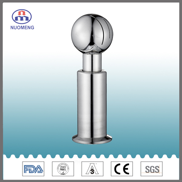 Sanitary Stainless Clamped Rotary Cleaning Ball