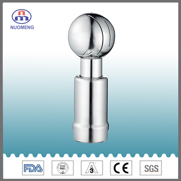 Sanitary Stainless Female Rotary Cleaning Ball