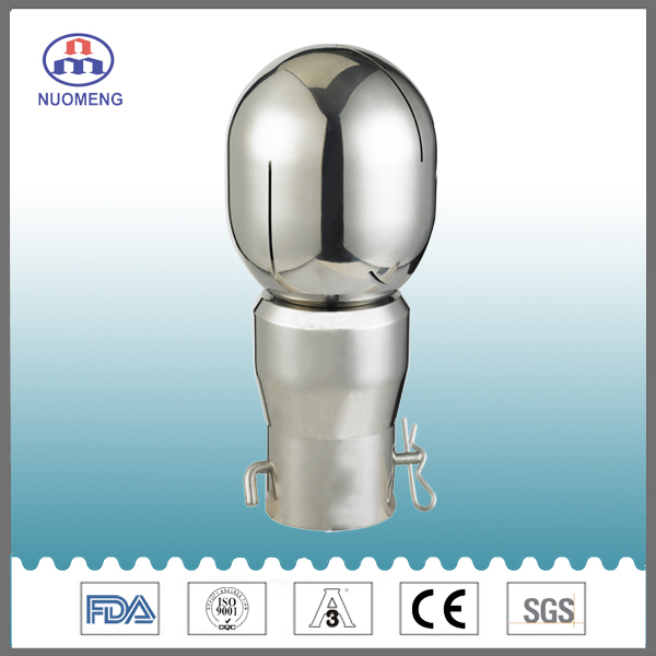 Sanitary Stainless Steel Bolted Rotary Cleaning Ball