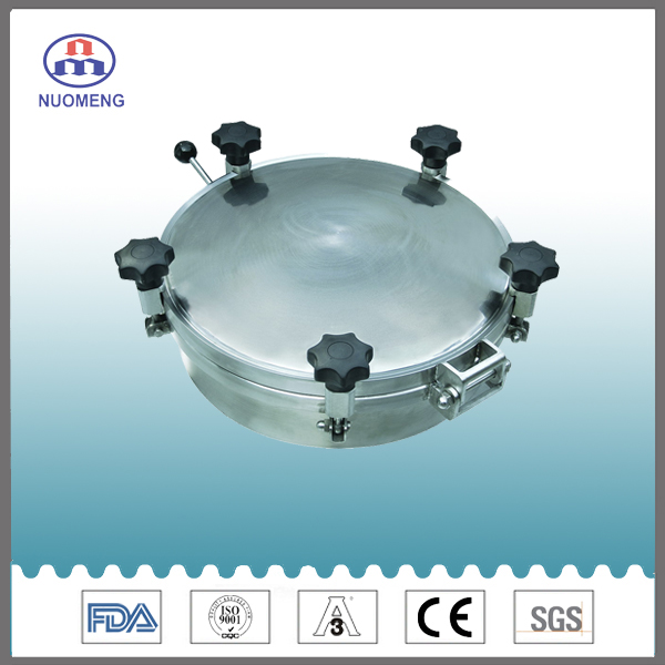 Sanitary Circular Manhole Cover with Pressure