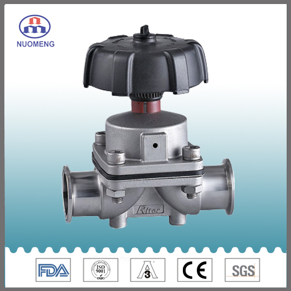 Clamped diaphragm valvesanitary clamped diaphragm valve china nuomeng sanitary stainless steel clamped diaphragm valve ccuart Image collections