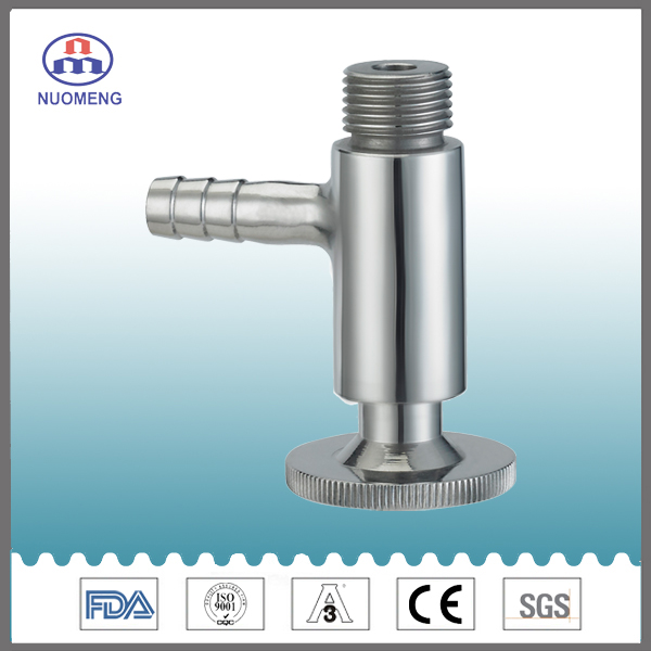 Sanitary Stainless Steel Thread Sample Valve