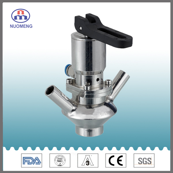 Sanitary Stainless Steel Welded Aseptic Sample Valve
