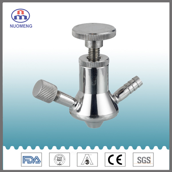 Sanitary Stainless Steel Welded Aspetic Sample Valve